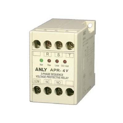 anly安良apr-4v三相电压相序保护继电器